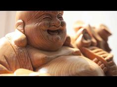 The image of the Laughing Buddha is based on a wandering Chinese monk, Budai (Hotei, in Japanese) who lived centuries ago and is believed to be Maitreya, or . Zen, Buddha Art, Just Smile, Its A Wonderful Life, Namaste, Meditation, Lion Sculpture, Spirituality, Japanese
