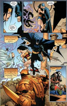 batman and wonder woman | Batman and Wonder Woman share a kiss before dying in The Obsidian Age ...