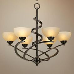 Franklin Iron Works™ Oil Rubbed Bronze Ribbon Chandelier from Love this for the dining room Lamps Plus; for entryway or dining room. Ribbon Chandelier, Bronze Chandelier, Dining Room Lighting, Chandelier Lighting, Country Kitchen Lighting, Wrought Iron Chandeliers, Dining Room Light Fixtures, Room Lamp, Oil Rubbed Bronze