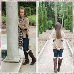 Sequin hear sweater! Great look for fall! Find it at It's a She Thing Boutique! www.facebook.com/shething