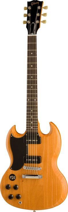 Left-Handed | Gibson SG Special 60s Tribute Worn Natural Left Handed at KeyMusic.com