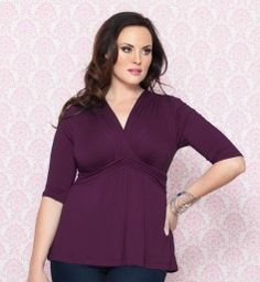 40a050d894ba0 Trina Top   www.kiyonna.com Plus Size Womens Clothing