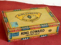I still have one of these cigar boxes