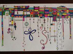 Another nice Zenspirations Dangle Design!
