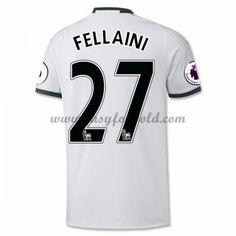 Fodboldtrøjer Premier League Manchester United 2016-17 Fellaini 27 3. Trøje
