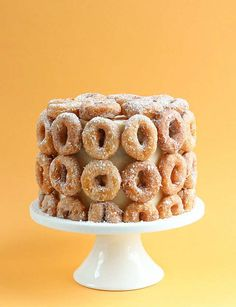 Splurge on a super eye-catching donut - 10 Delicious Donut Cakes | Tinyme Blog