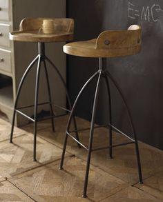 Final Selection Dining Area Bar Wood Iron Barstool Traditional Stools