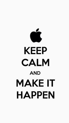 Keep Calm & ... iPhone Wallpaper.