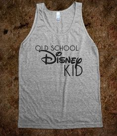 Old School Disney - Kayla's Graphic Tees - Skreened T-shirts, Organic Shirts, Hoodies, Kids Tees, Baby One-Pieces and Tote Bags