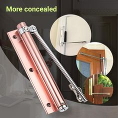 Automatic Door Self-Closing Hinge - - Automatic Door Self-Closing Hinge Home Improvement New! Double Layer Mats is now available. Upgrade to Royale Mats Today! Self Closing Hinges, Diy Home Cleaning, Diy Home Repair, Home Tools, Home Gadgets, Cool Inventions, Useful Life Hacks, Diy Home Crafts, Diy Home Improvement