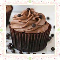 Chocolate Kahlua Cupcakes by Glorious Treats
