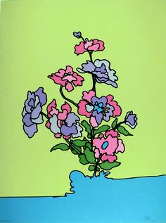 Peter Max, Untitled 21, 1972