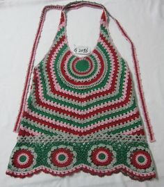 Crochet tunic - reminds me of the 70s!