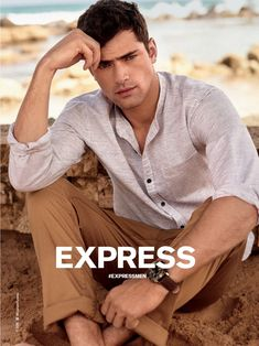 Sean OPry 2016 Express Spring Summer Campaign 001 Express Rounds Up Key Spring Styles
