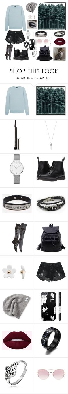 """""""todays mess ~1~"""" by bubblesntea ❤ liked on Polyvore featuring Joseph, West Elm, By Terry, Marc Jacobs, Daniel Wellington, Dr. Martens, Pink Box, Disney, Poporcelain and Converse"""