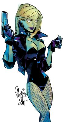 Black Canary by Otto Schmidt