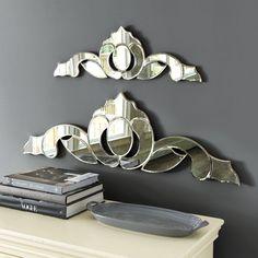 Venetian Antique Mirror Wall Plaque