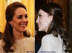 February 27, 2017. The Palace says the earrings are by Anita Dongre, a designer worn during the India tour last spring.  We are still looking for more information on the earrings.    ©PA Wire /