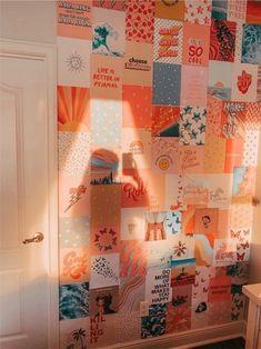 Cute Bedroom Decor, Teen Room Decor, Room Ideas Bedroom, Bedroom Inspo, Cute Room Ideas, Bedroom Wall Collage, Indie Room, Cozy Room, Aesthetic Bedroom