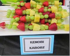 Star Wars Party - Kenobi Kabobs