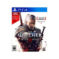 The Witcher 3: Wild Hunt Pre-OWNEDPlayStation 4