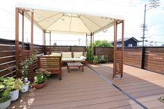 【アイジースタイルハウス】ルーフバルコニー。ガレージの屋根上を利用したルーフバルコニーはご家族にもご友人にも大人気 !