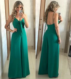 56 Casual Summer Outfits That Always Look Great Casual Chic, Casual Summer Outfits, Cute Outfits, Long Jumpsuits, African Fashion, Dress To Impress, Casual Looks, Fashion Outfits, Clothes For Women