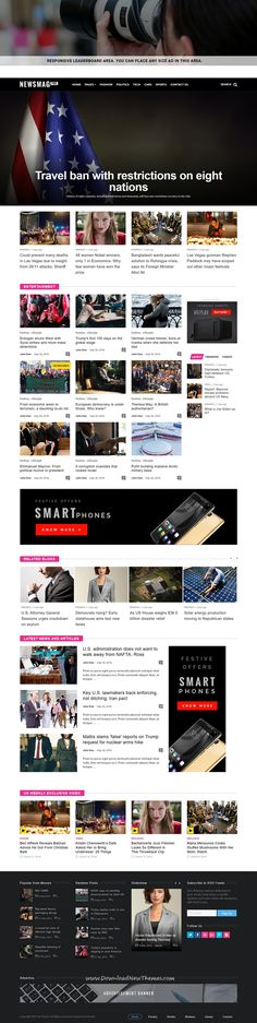 Spectr Responsive News And Magazine Template Template And Magazines