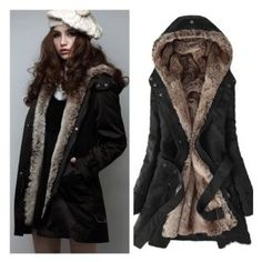 Hooded Parka Jacket Womens - JacketIn