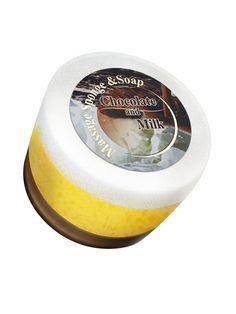 Săpun cu burete Ciocolată cu lapte  cod - bf70    Învăluie-ţi trupul în aroma senzuală a ciocolatei si creează-ţi o senzaţie de plăcere cu ajutorul buretelui. Potrivit pentu igiena de zi cu zi a tuturor tipurilor de piele.    70gr