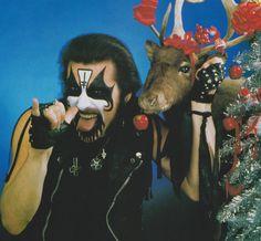 Mercyful Fate, King Diamond, Gothic Rock, Rock Music, Heavy Metal, Moose Art, Merry Christmas, Punk, Illustration