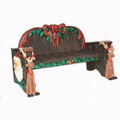 CHRISTMAS BENCH MaterialResin Length (cm)161.00 Width (cm)86.00 Height (cm)52.00 Length (inch)63.39 Width (inch)33.86 Height (inch)20.47 CBM0.72 Weight (kg)70.00