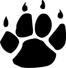 Maroon jaguar paw - photo#18
