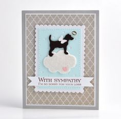 Dog Sympathy Card, Pet Sympathy Card, Loss of Pet Card by Cameron Cards                                                                                                                                                                                 More