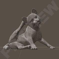 LittlePuddyTat. Poses for HiveWire Kitten