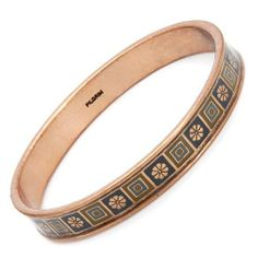 Bracelet Made in Rose Base Metal Exquisite bracelet made in rose base metal and multicolor enamel. Bracelet Crafts, Bangle Bracelets, Bangles, Cartier Love Bracelet, Danish Design, Indie Brands, Pilgrim, Bracelet Making, Metallica