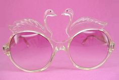 Swan sunglasses