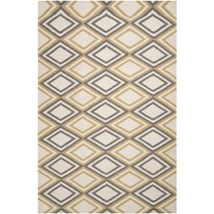 Frontier Ivory & Light Grey Rug design by Surya