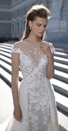 wedding-dresses-paradise:  Wedding Dress by Berta Spring 2016 Bridal Collection - Belle The Magazine