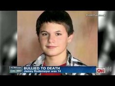CNN cover for the yotube shared video of JAMEY RODEMEYER BULLIED TO DEATH R.I.P