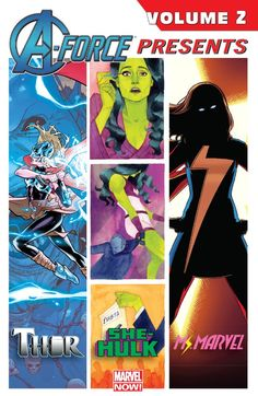 A-Force Presents Vol. 2 #TPB #Marvel #AForce (Cover Artist: Russell Dauterman, Jamie McKelvie & Kevin Wada) Release Date: 11/11/2015