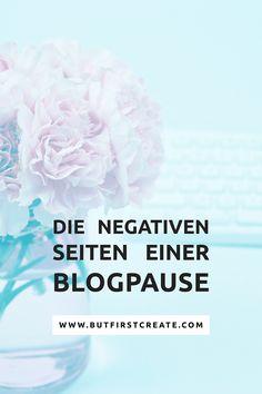Eine Zwangspause, weil die Kreativität oder die Motivation nachlässt, ist echt anstrengend. Ich musste ein paar Wochen Auszeit von meinem Blog nehmen und die Auswirkungen waren so gross, sodass ich sie unbedingt aufschreiben musste: die negativen Seiten einer Blogpause.