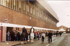 United Road Paddock. Old Trafford.