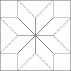 Quilt examples using the Eight-Pointed Star block.