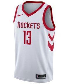 Nike Men's James Harden Houston Rockets Association Swingman Jersey - White XL