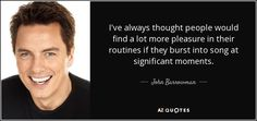 TOP 25 QUOTES BY JOHN BARROWMAN (of 51) | A-Z Quotes