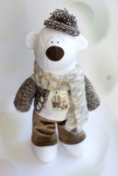 Tatifly handmade toys: Bear Theo