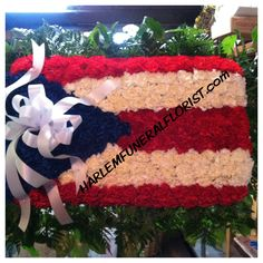 Puerto Rican Flag Puerto Rican Flag, Funeral Ideas, Funeral Flowers, Flower Designs, Puerto Rico, Memories, Christmas Ornaments, Create, Holiday Decor