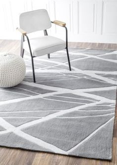$5 Off when you share! Keno Calypso Grey Rug | Contemporary Rugs #RugsUSA