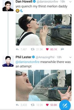 Dan and Phil summed up.